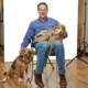 Aaron Zolbrod with Pets