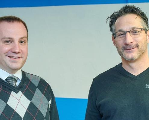 Aaron Zolbrod with Guest Elder Attorney Tim Witt