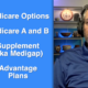 What are my options in Medicare and how do they differ?